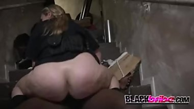 Wreckless bike rider gets his cock sucked and ridden by horny milf cops
