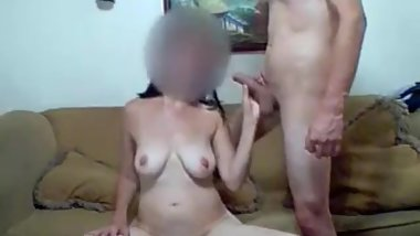 naughty woman fucks pussy and anal with dude and moans from orgasm