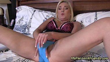 Step-Mommy Prepares Some Panties for Her Son