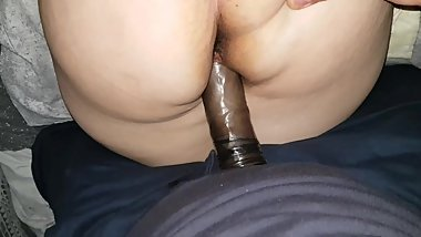 Cheating with a black cock - us going deeper in my pussy